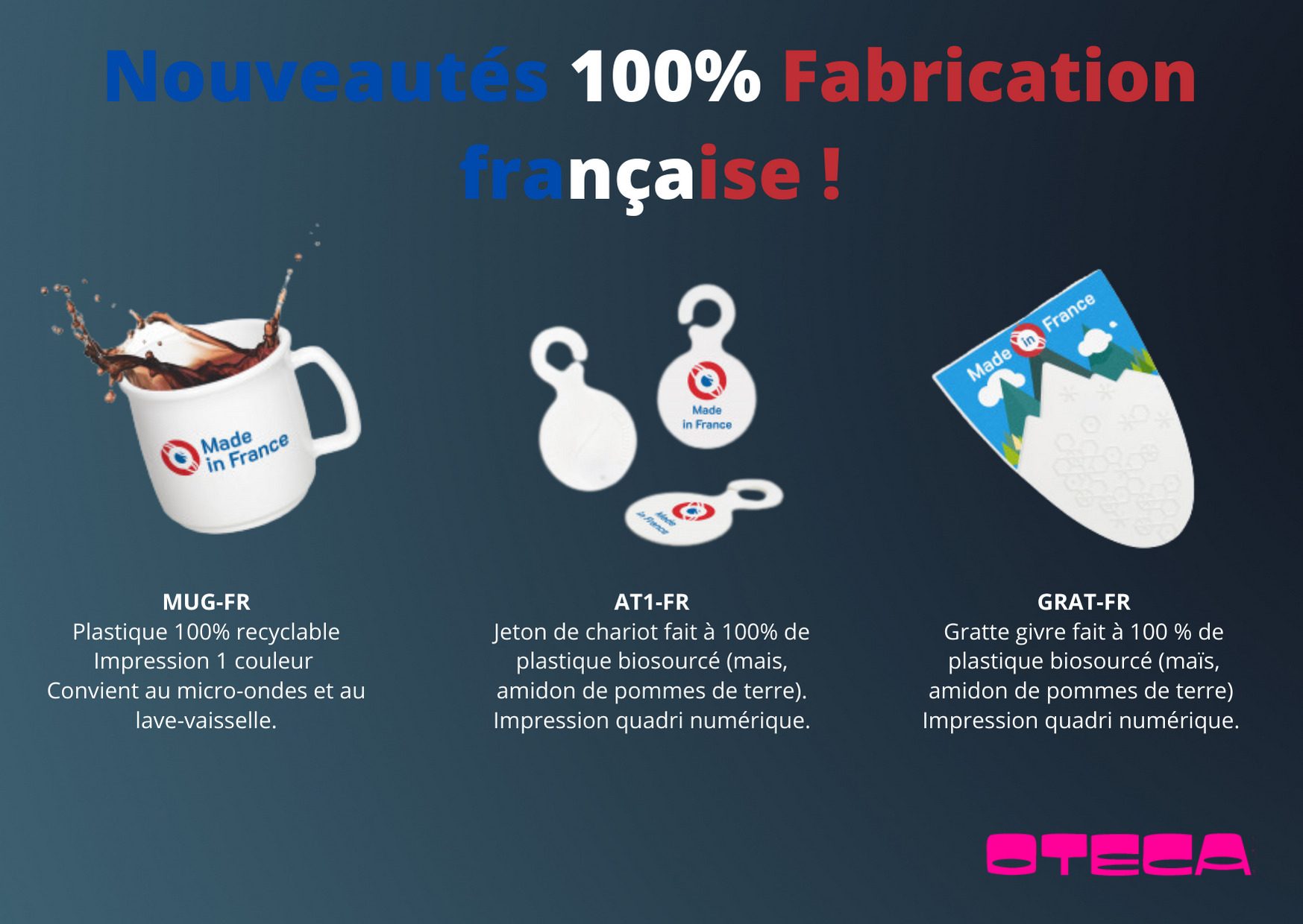 fabrication française oteca